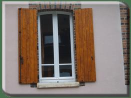 Pose de volets portes fen tres et portes fen tres en pvc for Fenetres double vitrage bois
